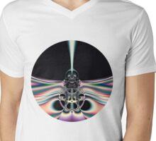 Funky Bird Mens V-Neck T-Shirt