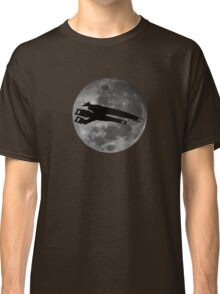 Normandy against the moon Classic T-Shirt