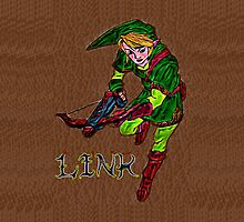Link with Crossbow by ChrisNeal