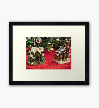 No Place Like Home for the Holidays Framed Print