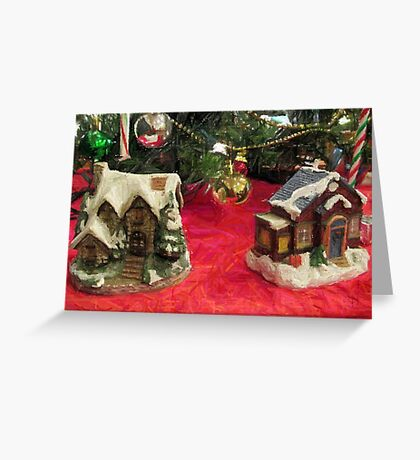 No Place Like Home for the Holidays Greeting Card