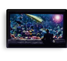 The Aquarium Canvas Print