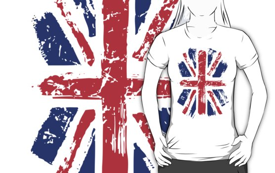 union jack flag by ihsbsllc