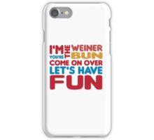 Weiner + Bun iPhone Case/Skin