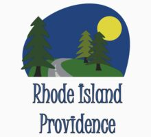 Providence Rhode Island truck stop vacation novelty tee One Piece - Short Sleeve