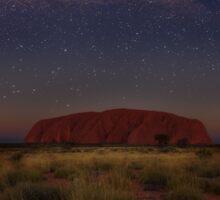 Uluru Starry Sky Sticker
