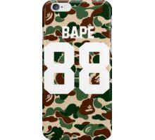 bape 88 army iPhone Case/Skin
