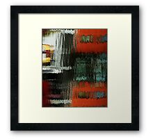 reflections on clarence  Framed Print