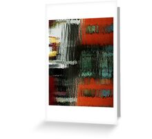 reflections on clarence  Greeting Card