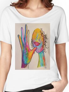 MOTHER - American Sign Language ASL Women's Relaxed Fit T-Shirt