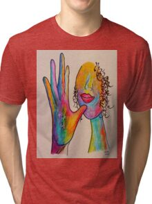 MOTHER - American Sign Language ASL Tri-blend T-Shirt