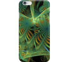 Starry ribbons, abstract fractal case iPhone Case/Skin