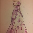 Watercolor Dress by xBlondieMoments