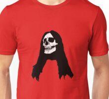 Long Haired Skull Unisex T-Shirt