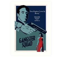 Gangster Squad Poster Art Print