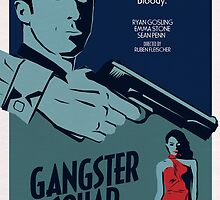 Gangster Squad Poster by jburzlaff