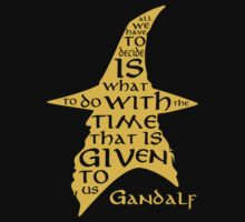 Gandalf Aphorism by chester92