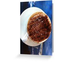 Coffee at Sea Greeting Card