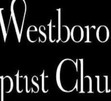 Protest Westboro Sticker