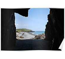 St. Ninian's Cave, Scotland Poster
