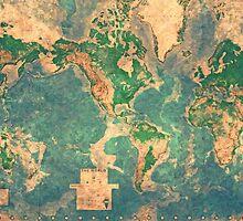 World Map by Adam Asar