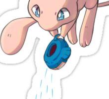 Mew Watering Shaymin Sticker