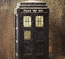 police box; doctor who by shoshgoodman