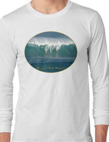 Big Wave Contest Hawaii Long Sleeve T-Shirt