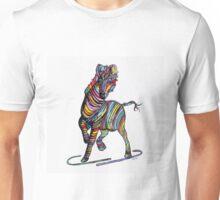 Kaleidoscope Zebra - Baby, Strut Your Stuff Unisex T-Shirt