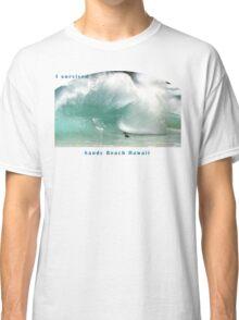 Sandy Beach Shorebreak T-Shirt Classic T-Shirt