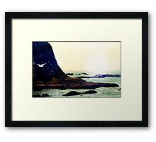 Olympic Peninsula Surf Framed Print