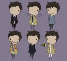 The Many Faces of Castiel Kids Clothes
