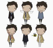 The Many Faces of Castiel by Jo Alfie Wimborne