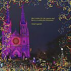 e christmas card of St Marys christmas show by Gary Blackman