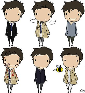 The Many Faces of Castiel by CapnAlfie
