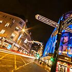 'Le Blue' Manchester by Stephen Knowles