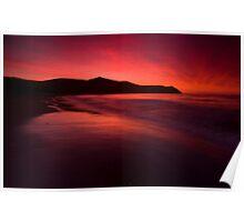 Port Jackson sunset IV Poster
