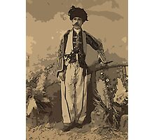 Kurdish chief, full-length portrait, standing, facing front Photographic Print