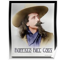 Buffalo Bill Cody in Oil Poster