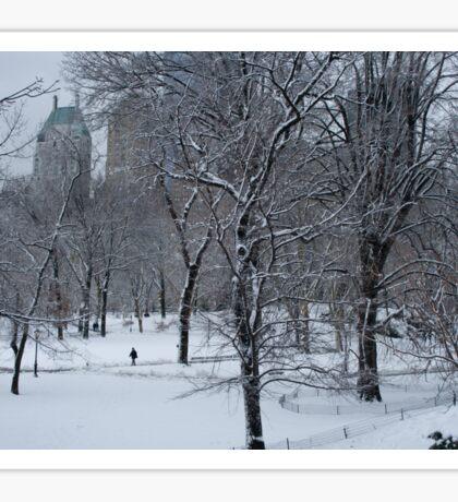 A Walk In The Snow Sticker