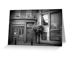13 Park Street - London Greeting Card