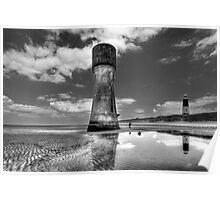 Spurn Old Lighthouse Poster