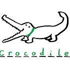 Draw Draw Crocodile by DrawDraw