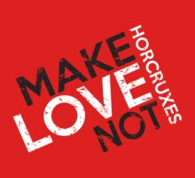 MAKE LOVE NOT HORCRUXES IN RED Baby Tee