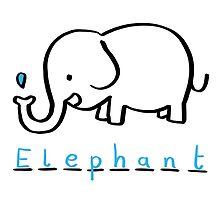 Draw Draw Elephant by DrawDraw