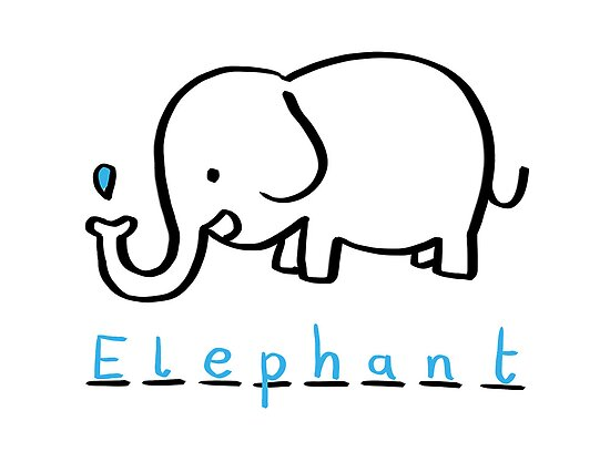 Draw Draw Elephant by DrawDraw
