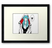 DRAMAtical Murder - Punk Aoba (Sly Blue) Framed Print