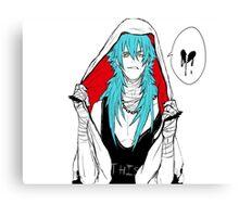 DRAMAtical Murder - Punk Aoba (Sly Blue) Canvas Print