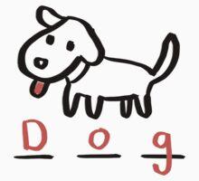 Draw Draw Dog Kids Clothes