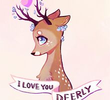 I Love You Deerly by sergle